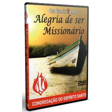 DVD - Alegria de ser missionário (Cópia)