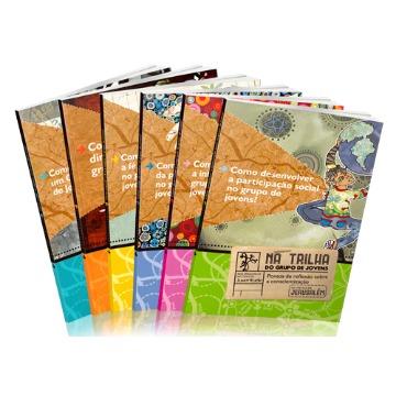 Coleção Completa - Na Trilha do Grupo de Jovens - 6 livros