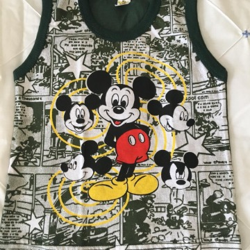 Regata Infantil Mickey