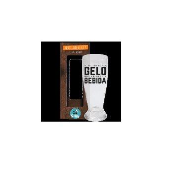 Copo de Cerveja 200ml - Se For Pra Me Dar Gelo
