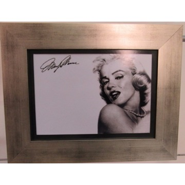 Gravura 43x34 `Marilyn Monroe` com Moldura