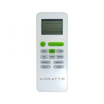 CONTROLE REMOTO AGRATTO ECO 9.000 / 12.000 / 18.000 / 22.000 - MODELOS: ECS9F-R4 / ECS9QF-R4 / ECS12F-R4 / ECS12QF-R4 / ECS18F-R4 / ECS18QF-R4 / ECS22F-R4 / ECS22QF-R4