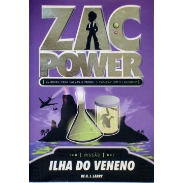ZAC POWER: ILHA DO VENENO - H. I. Larry