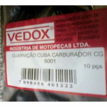 GUARNIÇÃO CUBA CARBURADOR TITAN 125/150 BRAVO RACING