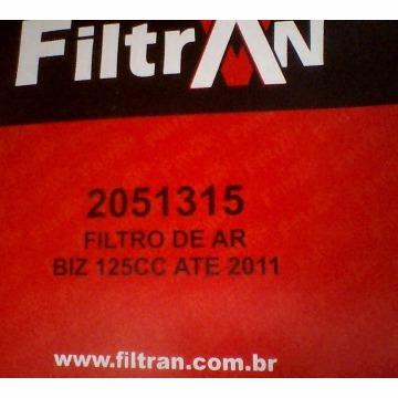 FILTRO AR BIZ 125 2006/11 MOD ORIG FILTRAN