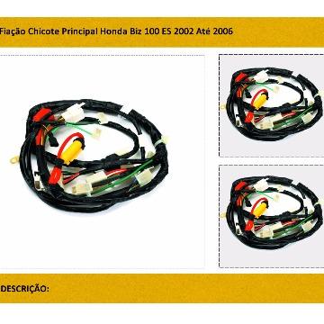 CHICOTE PRINCIPAL BIZ 100 00/05 ES/BIZ + MAGNETRON