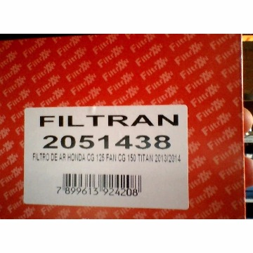 FILTRO AR TITAN 00/04/FAN MOD ORIG FILTRAN