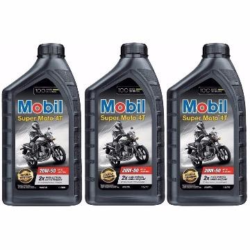 OLEO MOBIL MOTOS 4T 20W50 API SL