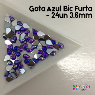 Gota Azul Bic Furta - 24un 3,6mm