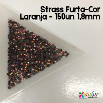 Strass Furta-Cor Laranja - 150un 1,8mm