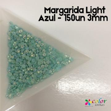 Margarida Light Azul - 150un 3mm