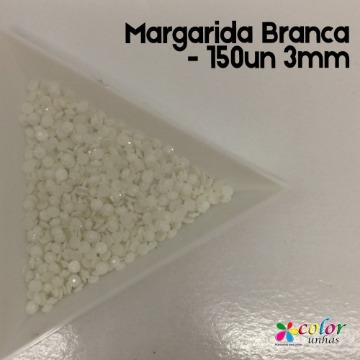 Margarida Branca - 150un 3mm