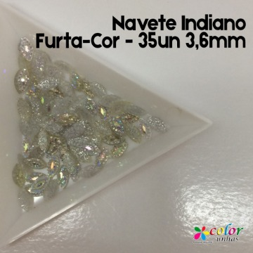 Navete Indiano Furta-Cor - 35un 3,6mm