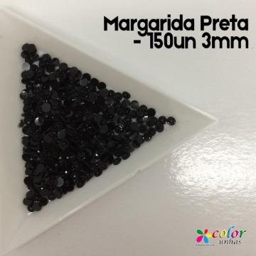 Margarida Preta - 150un 3mm