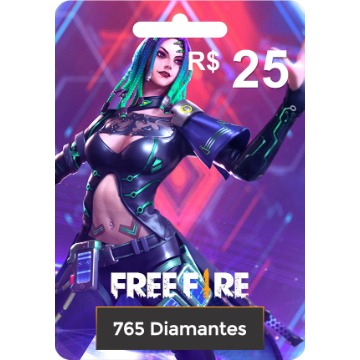 Garena Free Fire 765 diamantes