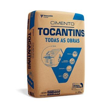 CIMENTO TOCANTINS TODAS AS OBRAS 50KG