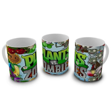 CANECA PLANTS VS ZUMBIES