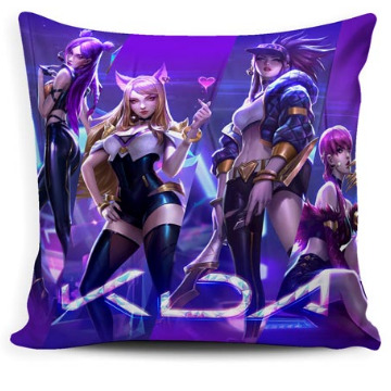 ALMOFADA LEAGUE OF LEGENDS KDA