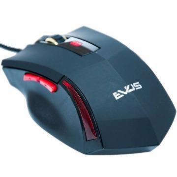 MOUSE OTICO EVUS GAMER PREDADOR MG-02 USB PRETO 3.200 DPI
