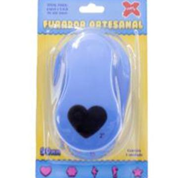 Furador artesanal Make+ coração 16mm