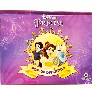 Livro pop divertido princesas e Frozen