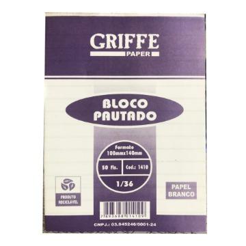 BLOCO PAUTADO GRIFFE PAPER 1/36