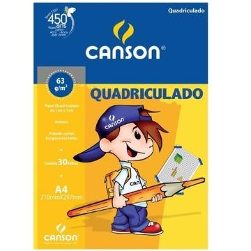 BLOCO DE PAPEL QUADRICULADO CANSON