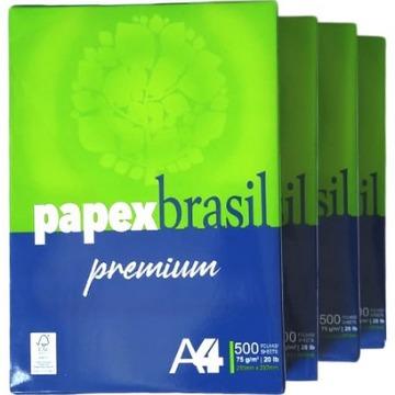 PAPEL OFÍCIO A4 PREMIUM 75 GR PAPEX BRASIL