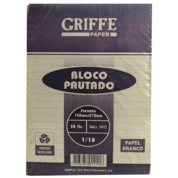 BLOCO PAUTADO GRIFFE PAPER 1/18