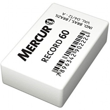 BORRACHA BRANCA MERCUR RECORD 60