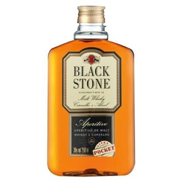 Whisky Black Stone Pocket 250 Ml - 1 Unidade