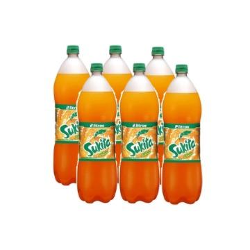 Refrigerante Sukita Laranja Pet 2Lt Fardo C/ 6 Unidades