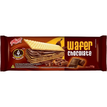 Biscoito Micos 115G Wafer Chocolate
