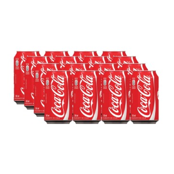 Refrigerante Coca-Cola 350ML Fardo C/ 12 Unidades