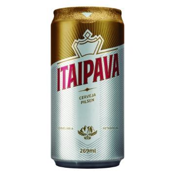 Cerveja Itaipava Lata 269ml 1 Unidade
