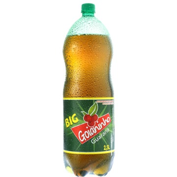 Refrigerante Big Goianianho Guaraná Pet 2,5 Litros 1 Unidade