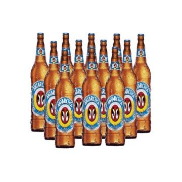Cerveja Antarctica Pilsen Litrao C/ 12 Unidades