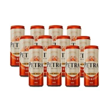 Cerveja Petra Puro Malte Lata Gelada 350ml Com 12 Unidades