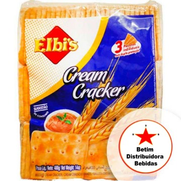 Cream Cracker Elbi's 400g