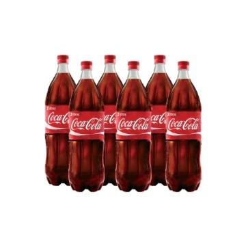 Refrigerante Coca Cola 2lt Fardo 6 Unidades Gelada