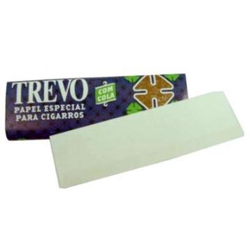Papel Para Cigarros Trevo com 50 Folhas