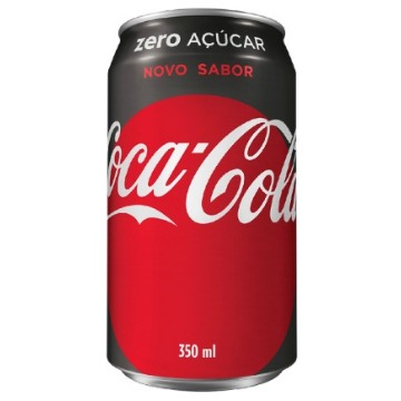 Refrigerante Coca-Cola Zero 350Ml 1 Unidade