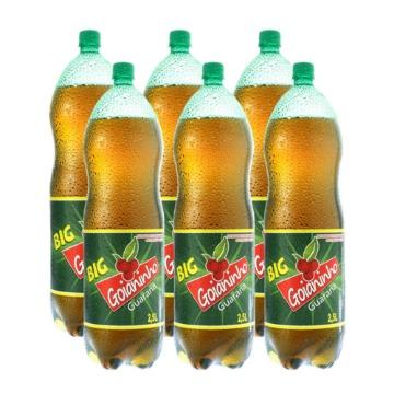 Refrigerante Goianinho Pet 2,5lt Fardo 6 Unidades