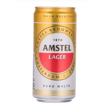 Cerveja Amstel Lata 269 ml 1 unidade
