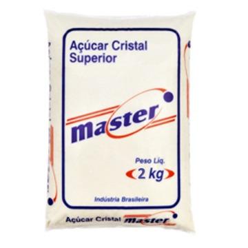 Açúcar Cristal  Master Pacote 2kg