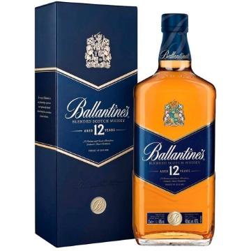Whisky Escocês Ballantine's 12 anos 1 Litro - 1 Unidade