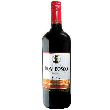 Vinho Dom Bosco Tinto Suave Garrafa 1 Litro Gelado
