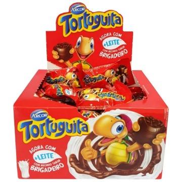 Chocolate Tortuguita Brigadeiro Arcor 18g Caixa com 24 Unidades