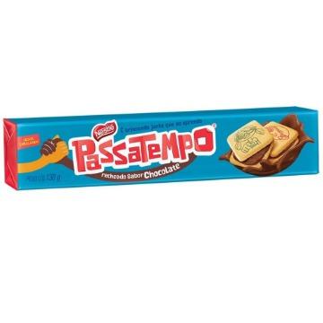Biscoito NESTLÉ Passatempo Recheado de Chocolate Pacote 130g