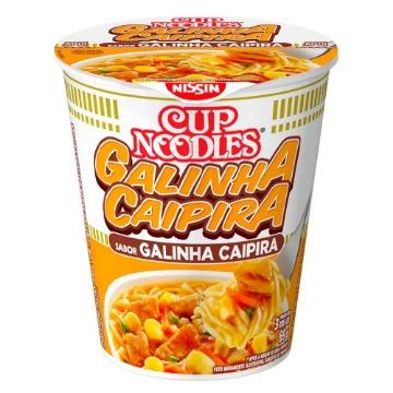 Macarrão Instantâneo Cup Noodles Sabor Galinha Caipira